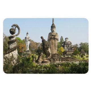 Sala Keo Kou, Nong Khai, Thailand Rectangular Photo Magnet