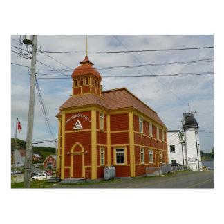 Sala parroquial, trinidad tarjetas postales
