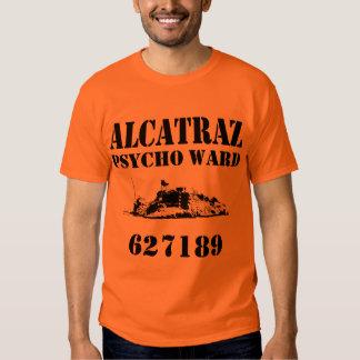 Sala psica de Alcatraz (personalizada) Playeras