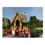 Sala tailandés en Tierpark Hagenbeck Hamburgo Alem Postal