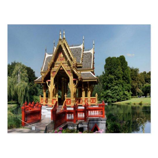 Sala Thai at Tierpark Hagenbeck Hamburg Germany Postcard