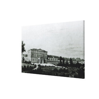 Sala', the country home near Parma Canvas Prints