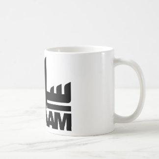 Salaam black coffee mug