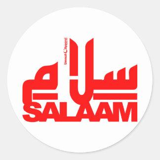 Salaam Classic Round Sticker