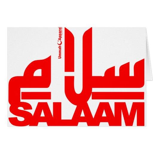 Salaam Greeting Cards