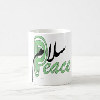 Salaam peace mugs