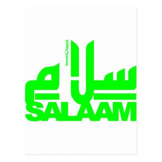 Salaam Postcard