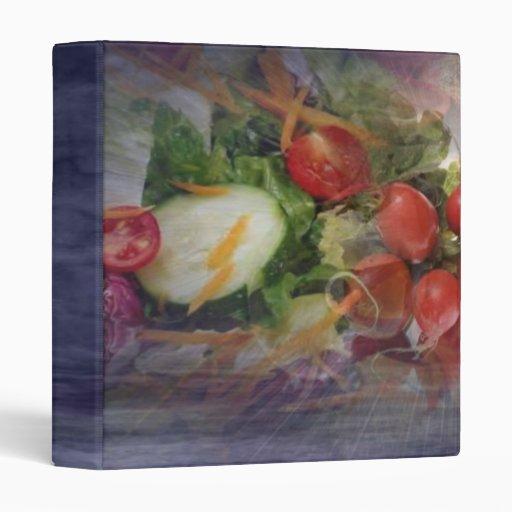 Salad Avery Binder