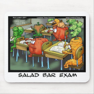 Salad Bar Exam Funny Gifts Tees Cards & Mugs Mouse Pads