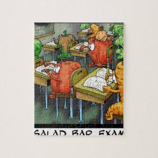 Salad Bar Exam Funny Jigsaw Puzzle
