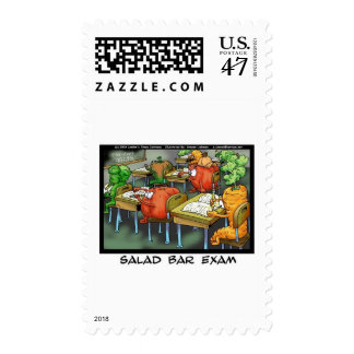 Salad Bar Exam Funny Lawyer Gifts & Collectibles Postage