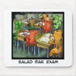 Salad Bar Exam Funny Mouse Pad