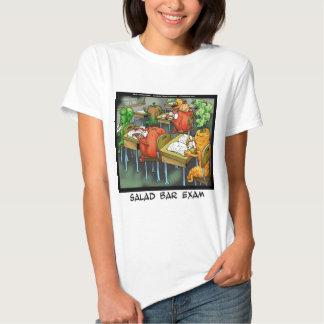 Salad Bar Exam Funny T-shirt