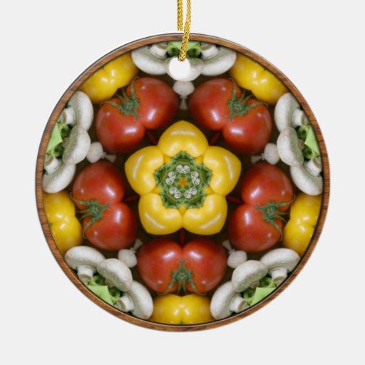 Salad Bowl Mandala Ornament