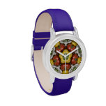 Salad Bowl Mandala Wrist Watches