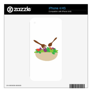 Salad Bowl Skins For iPhone 4S