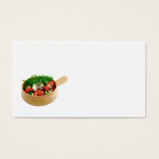 Salad Business Card