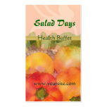 Salad Days Double-Sided Standard Business Cards (Pack Of 100)