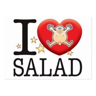 Salad Love Man Large Business Card