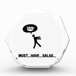Salad Lover Acrylic Award