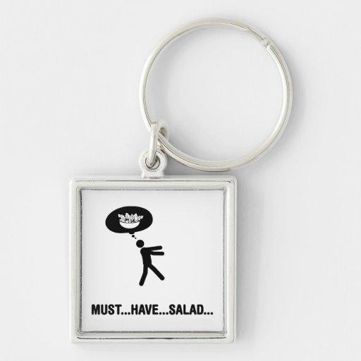 Salad Lover Key Chain