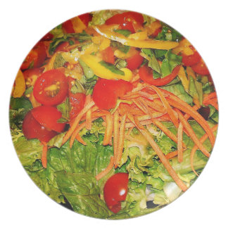 Salad Melamine Plate