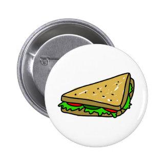 Salad Sandwich 2 Inch Round Button