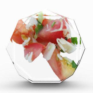 Salad Splat Acrylic Award