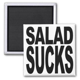 Salad Sucks 2 Inch Square Magnet