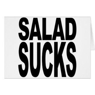 Salad Sucks Card