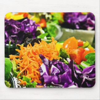 Salad To Go Mouse Pad