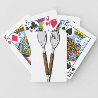 Salad Tongs Bicycle Playing Cards