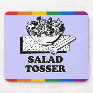 Salad Tosser Mouse Pad