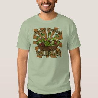 Salad Tossing Champion T Shirt
