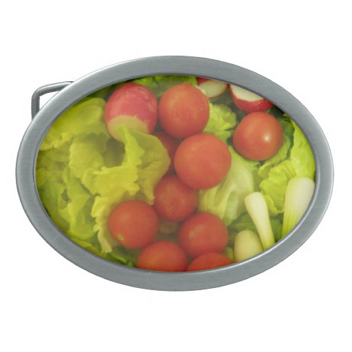 Salad Vegetables  Belt Buckle