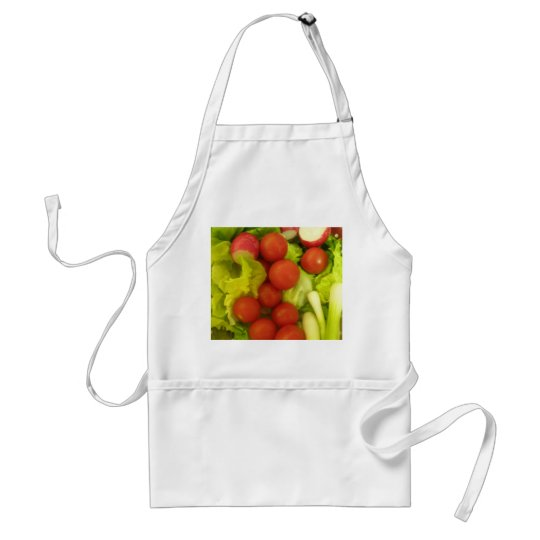 Salad Vegetables Cooking Apron
