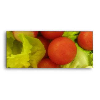 Salad Vegetables Envelopes