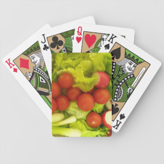 Salad Vegetables Playing Cards