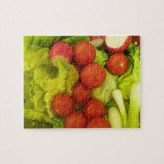 Salad Vegetables Puzzle