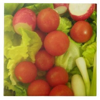 Salad Vegetables Tile