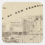 Saladar de San Francisco Bay Calcomanías Cuadradass Personalizadas