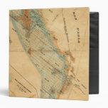 """Saladar y mapa de las tierras de la marea carpeta 1 1/2"""""""