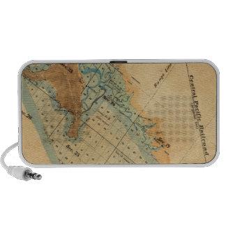 Saladar y mapa de las tierras de la marea laptop altavoces