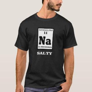 Salado. Humor de la tabla periódica Playera