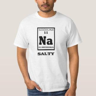 Salado. Humor de la tabla periódica Poleras