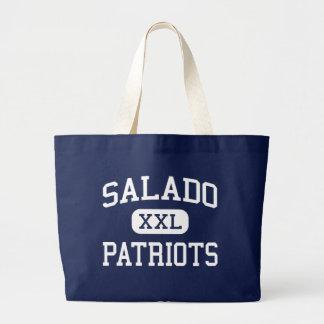 Salado Patriots Middle San Antonio Texas Canvas Bag