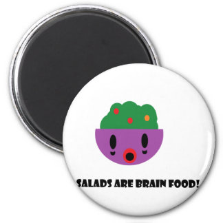 Salads are Brain Food Magnet