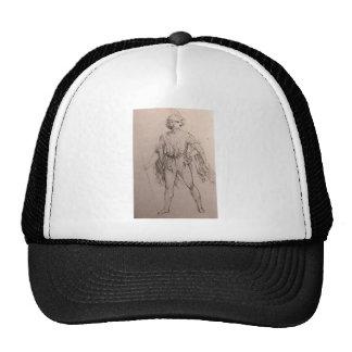 Salaino in fancy dress mesh hats