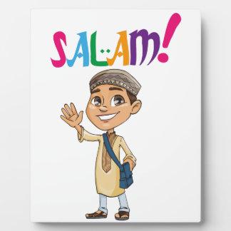 SALAM for boy Plaque