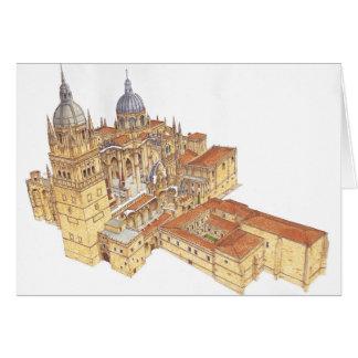 Salamanca Cathedral. Spain Card